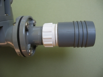 Sump Pump Hose Adapter